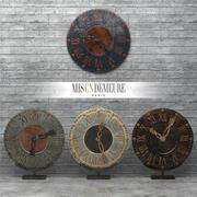 Reloj Aldea Inferior modelo 3d