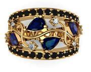 Jewelry ring. 3d model