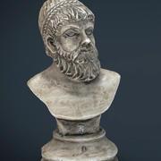 Greek Bust 3d model