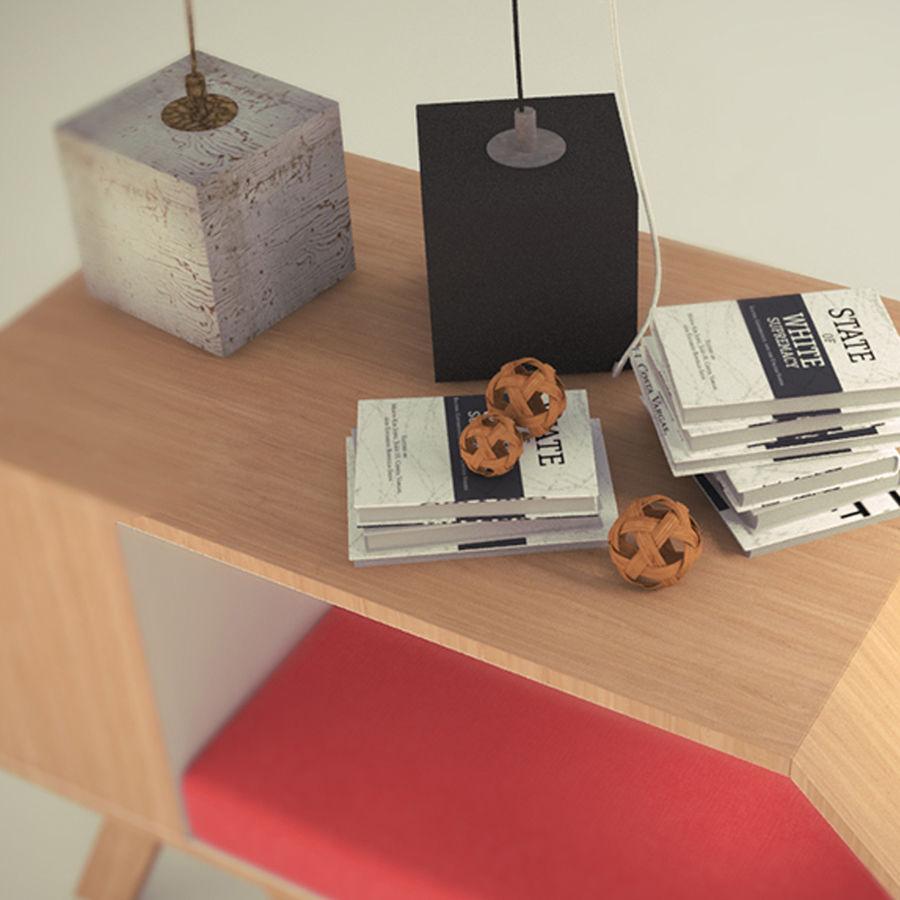 Hundar och katter hus royalty-free 3d model - Preview no. 5