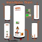 Objet de chauffe-eau 3d model