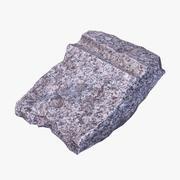 Débris de granit 3d model