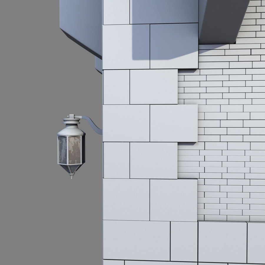 Architektur Turm royalty-free 3d model - Preview no. 16
