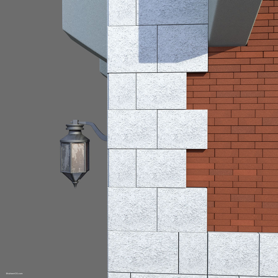 Architektur Turm royalty-free 3d model - Preview no. 15