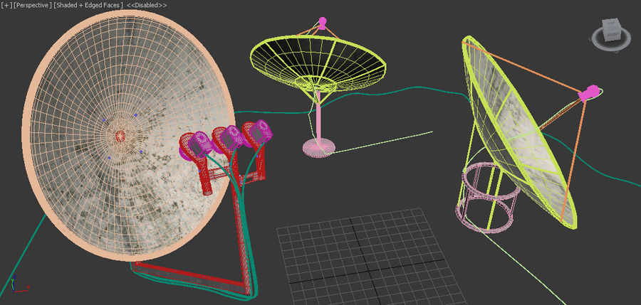 Antenne royalty-free 3d model - Preview no. 6