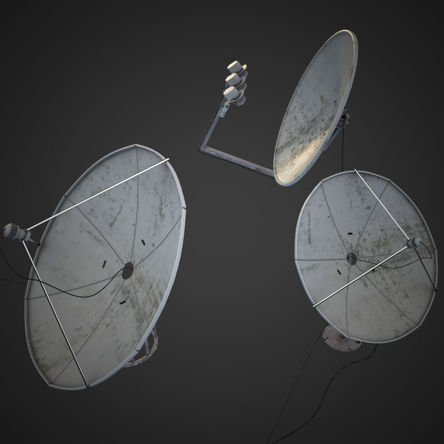 Antenne royalty-free 3d model - Preview no. 2