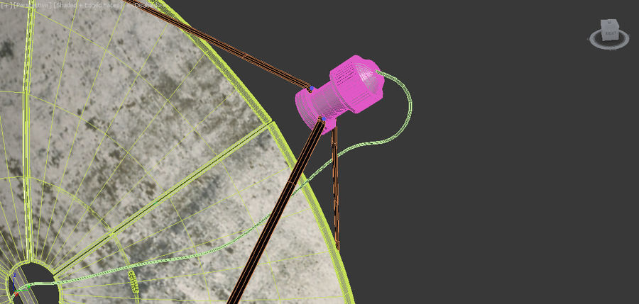 Antenne royalty-free 3d model - Preview no. 20