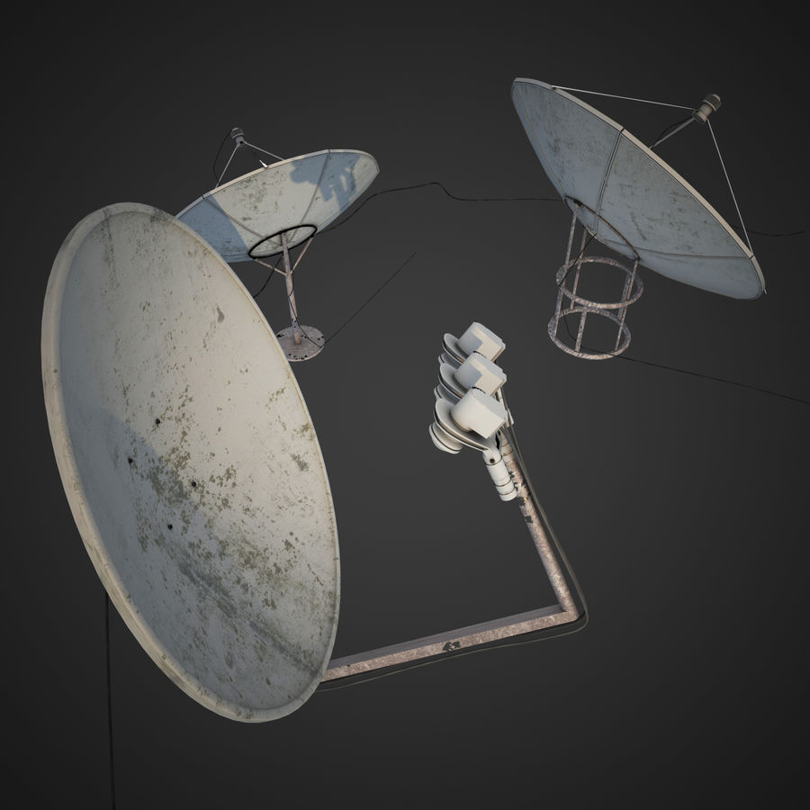 Antenne royalty-free 3d model - Preview no. 4