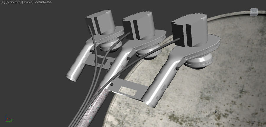 Antenne royalty-free 3d model - Preview no. 10