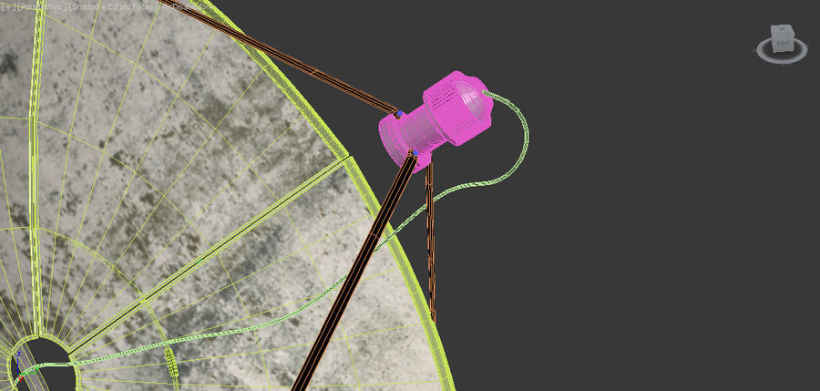 Antenne royalty-free 3d model - Preview no. 8