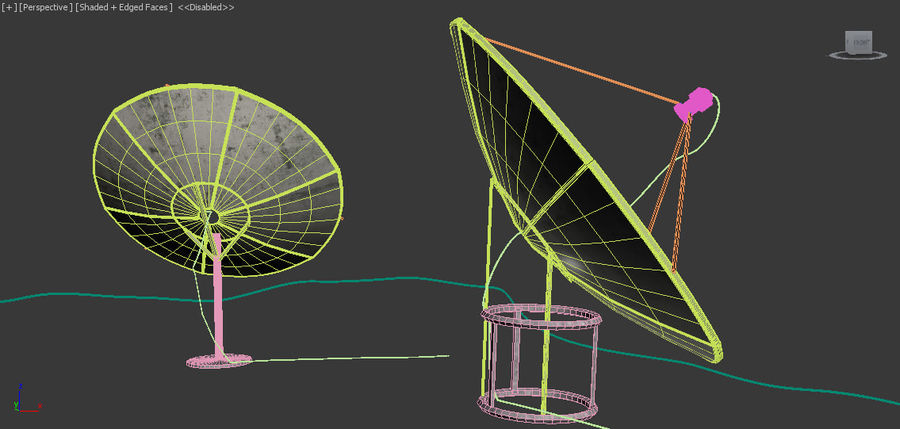 Antenne royalty-free 3d model - Preview no. 9