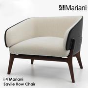 i 4 Mariani SAVILE ROWチェア 3d model