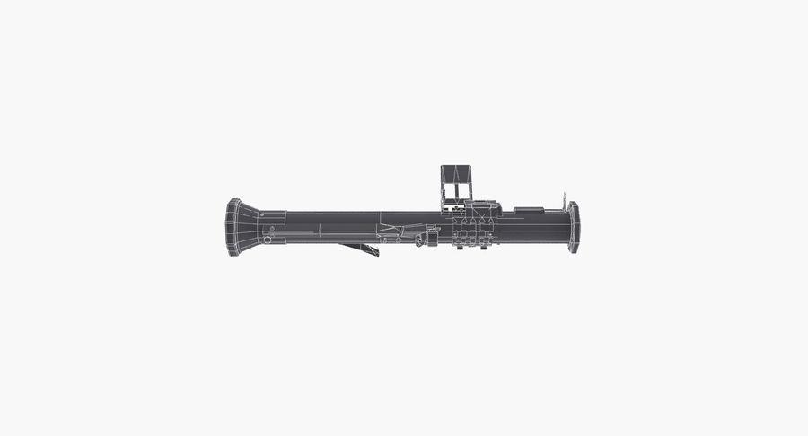 Bazooka royalty-free 3d model - Preview no. 11