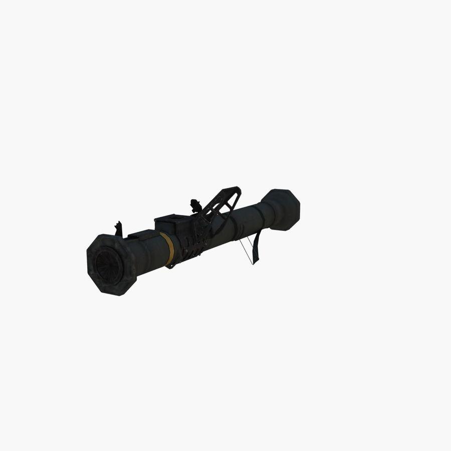 Bazooka royalty-free 3d model - Preview no. 1