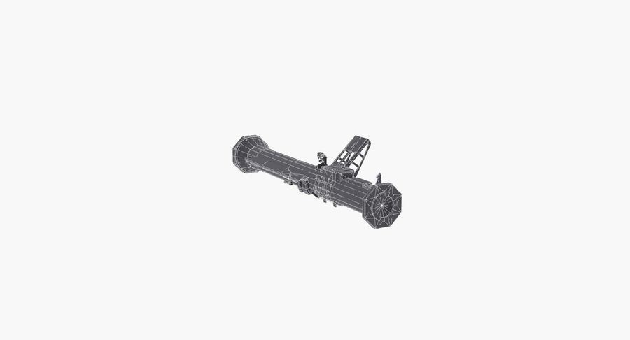 Bazooka royalty-free 3d model - Preview no. 12