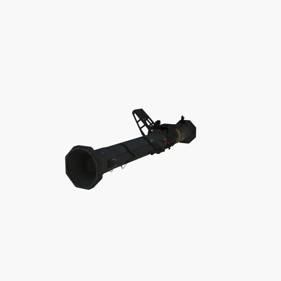 Bazooka royalty-free 3d model - Preview no. 4