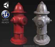 Hydrant - PBR Texturen 3d model
