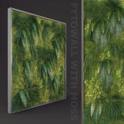 Fytowall with moss 3d model