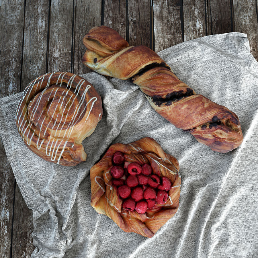 Bakery set royalty-free 3d model - Preview no. 4