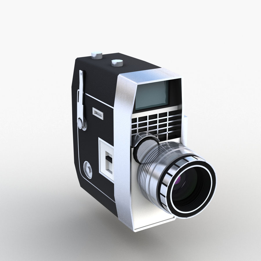 Vintage Camera royalty-free 3d model - Preview no. 1