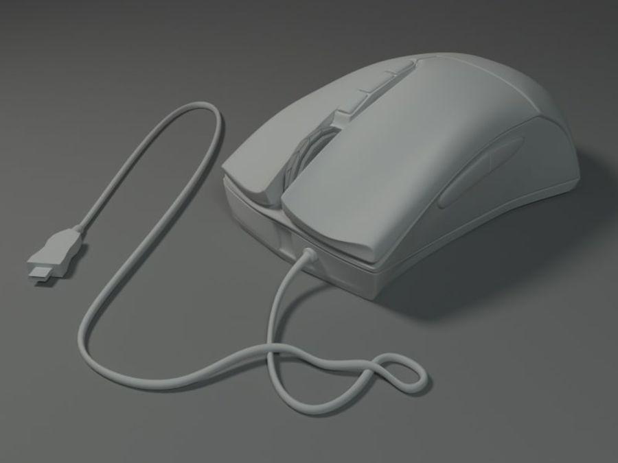 コンピューターのマウス royalty-free 3d model - Preview no. 5