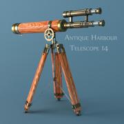 telescopio modelo 3d