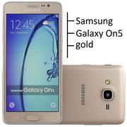 samsung galax on5 guld 3d model