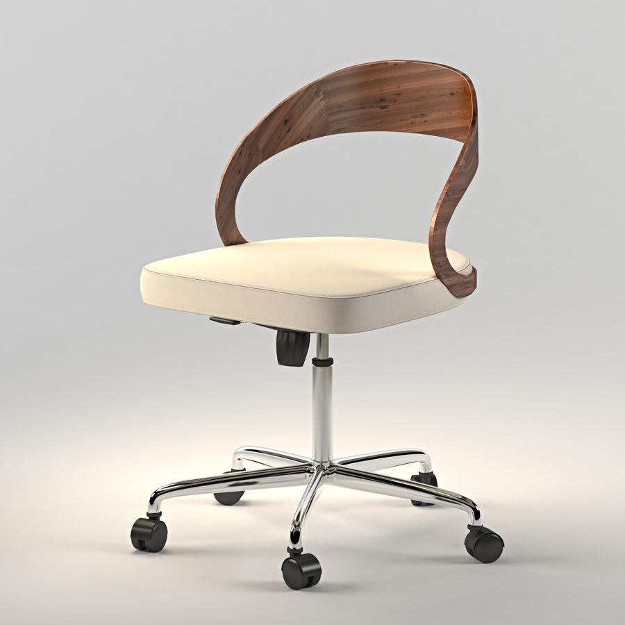Girado | armchair royalty-free 3d model - Preview no. 1