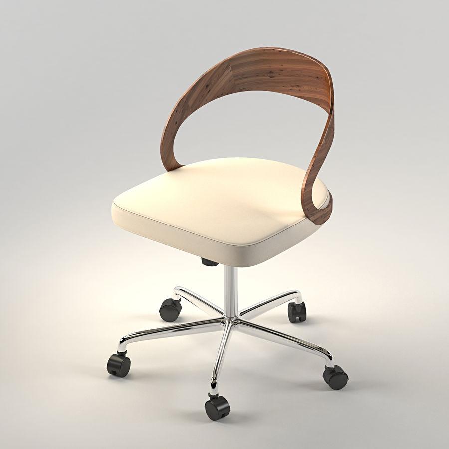Girado | armchair royalty-free 3d model - Preview no. 2