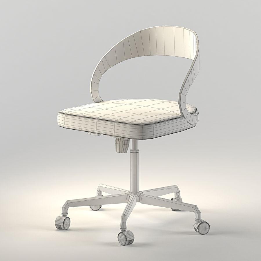 Girado | armchair royalty-free 3d model - Preview no. 4