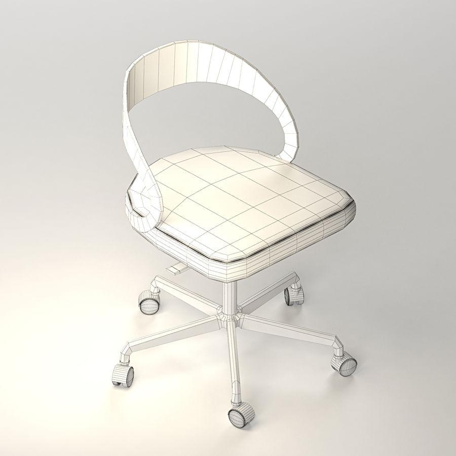 Girado | armchair royalty-free 3d model - Preview no. 5