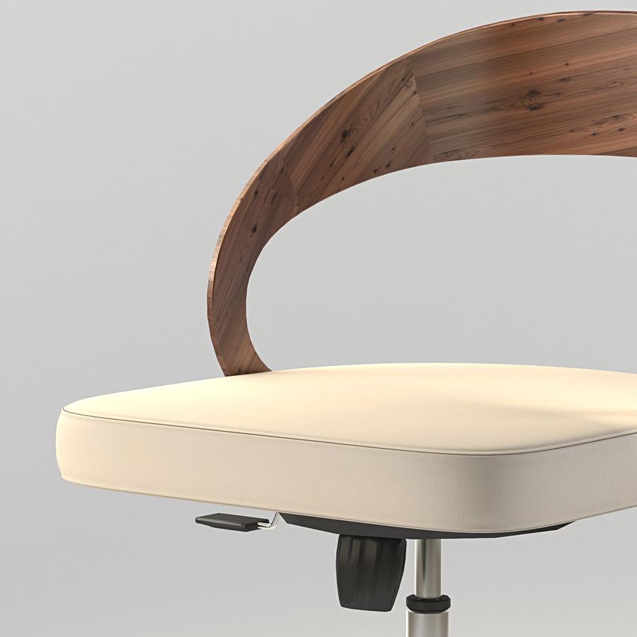 Girado | armchair royalty-free 3d model - Preview no. 3
