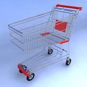 Wózek sklepowy 3d model
