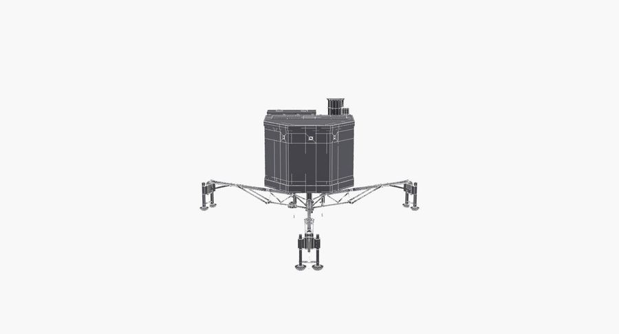 Satellietschotel royalty-free 3d model - Preview no. 12