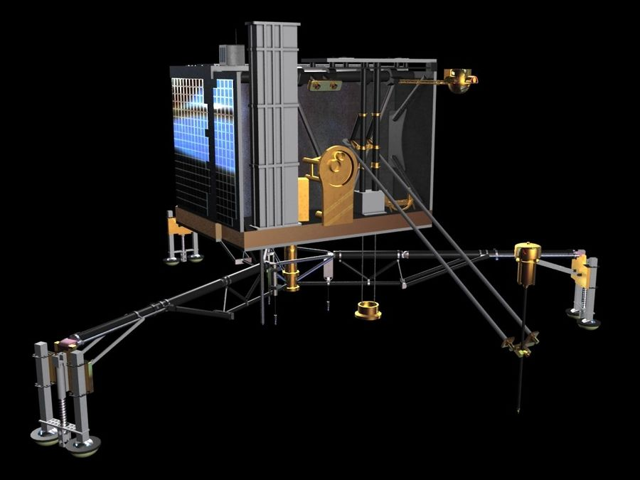 Satellietschotel royalty-free 3d model - Preview no. 7