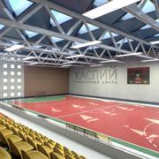 Fitnessstudio Leichtathletik Interieur 3d model