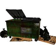 DumpsterTrashPackage 3d model