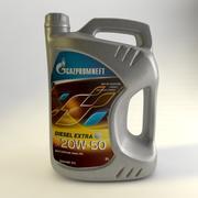 Gazpromnieft-Diesel-Extra-20W-50-5L 3d model