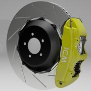 ブレーキ 3d model