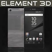 Element 3D Sony Xperia Z5 Premium Krom 3d model