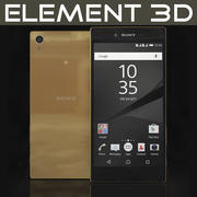 Element 3D Sony Xperia Z5 Premium Altın 3d model