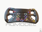 Corrida de Fórmula Genérica com Volante F1 3d model