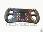F1 Kierownica Formuła wyścig ogólny 3d model