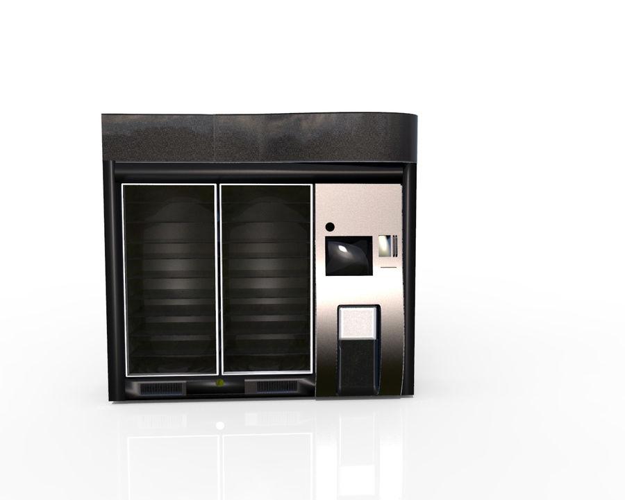 Flera leverantörsmaskiner royalty-free 3d model - Preview no. 2