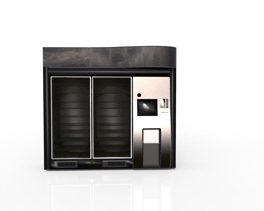 Flera leverantörsmaskiner royalty-free 3d model - Preview no. 3