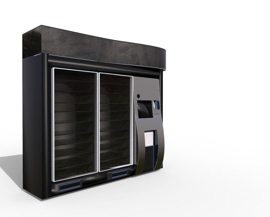 Flera leverantörsmaskiner royalty-free 3d model - Preview no. 1