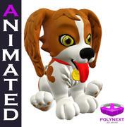 Kreskówka gadający pies 3d model