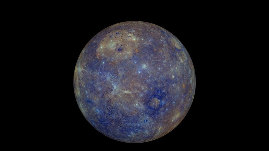 Mercury Realistic royalty-free 3d model - Preview no. 3