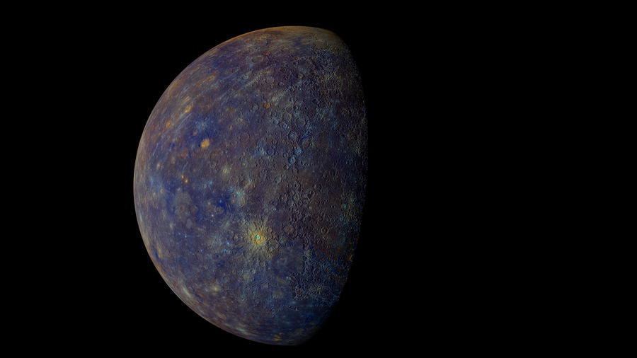 Mercury Realistic royalty-free 3d model - Preview no. 5