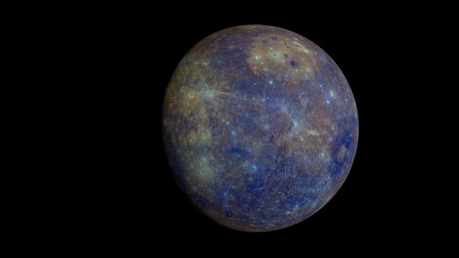 Mercury Realistic royalty-free 3d model - Preview no. 1